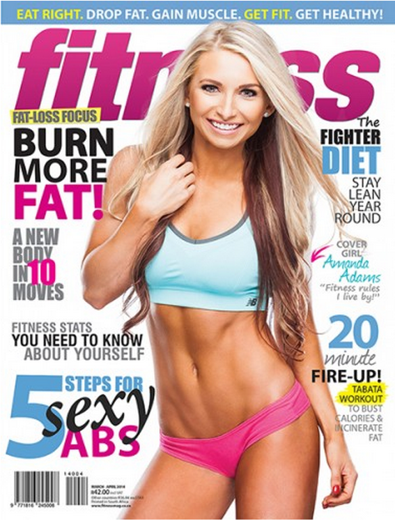 Fitness Mag cover Mar-Apr 2014