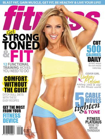 Fitness Mag cover May-Jun 2014