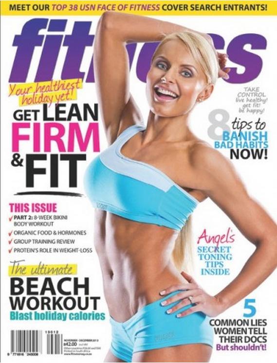 Fitness Mag cover Nov-Dec 2013